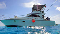 Cozumel fishing fleet deep sea and bottom fishing for Fly fishing cozumel