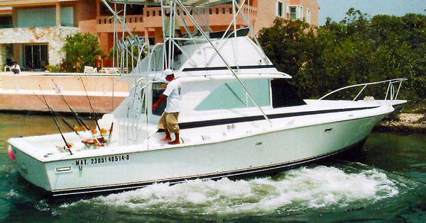 Cozumel fishing fleet deep sea and bottom fishing for Cozumel fishing charters
